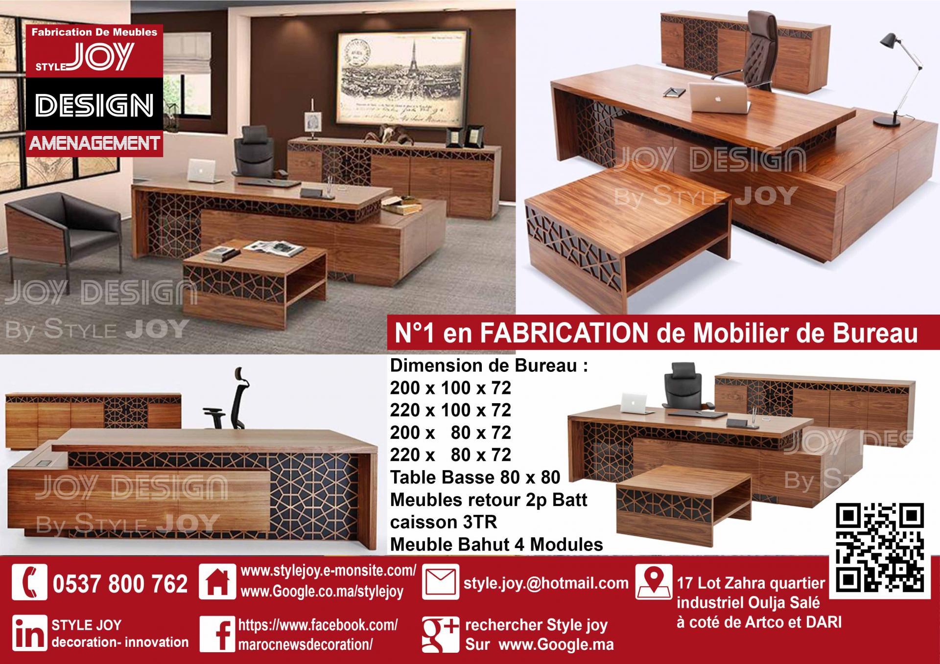 N° en mobilier bureau rabat casablanca deco inovation meuble rabat
